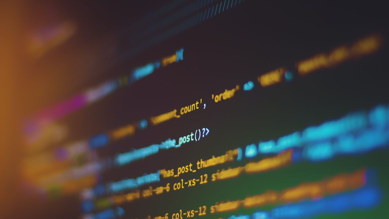 shallow focus photography of computer codes